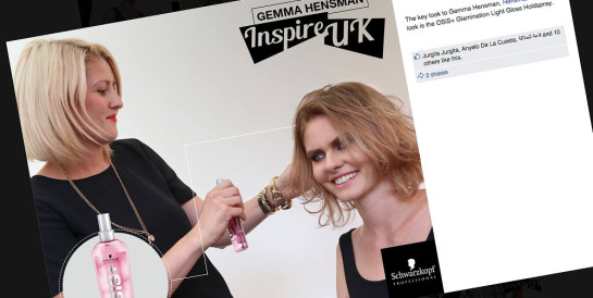 Social Media Campaign - Schwarzkopf Professional UK Facebook